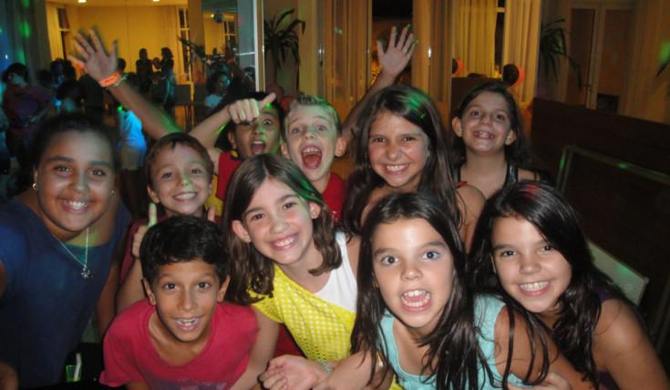 Balada animada em São Paulo