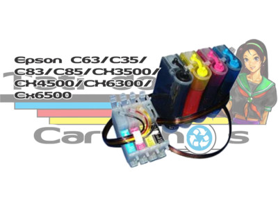 Bulk Ink: Bulk Ink Epson: Bulk Ink Epson C63 / C35 / C83 / C85 / CX3500/ CX4500 / CX6300 / CX6500